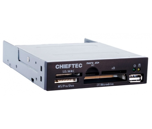 "CARD READER 50-IN-1 CRD-501D 3,5"" Chieftec"