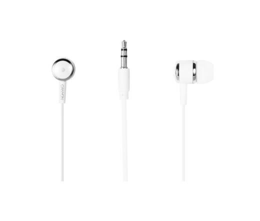 CANYON CNS-CEPM02GBL fülhallgató mikrofonnal fehér