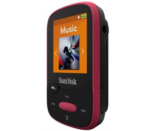 MP3 SANDISK Clip Sport 8GB Pink