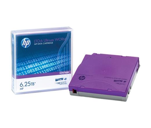 HP Adatkazetta LTO6 6.25TB MP WORM