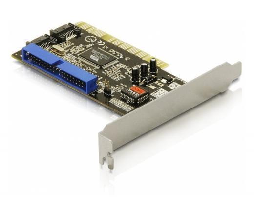 I/O DELOCK PCI 2x SATA + 1x IDE illesztőkártya (70146)
