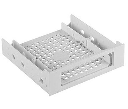 """BITFENIX Beépítőkeret 2,5"""" és 3,5"""" HDD-hez 5,25"""" helyre fehér"""