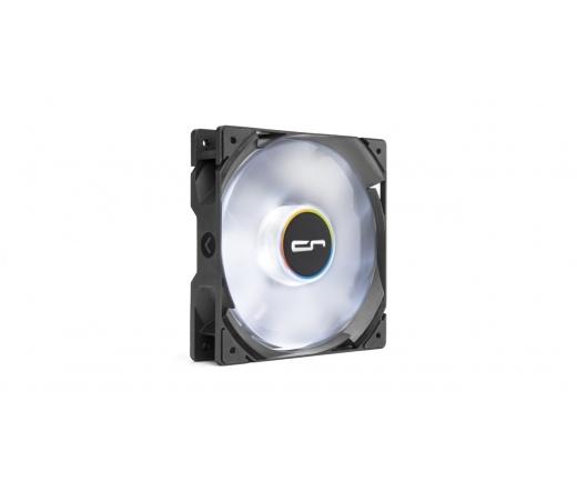 Cryorig QF120 Balance LED fehér - 120mm