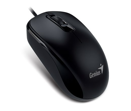 GENIUS MOUSE DX-110 USB Fekete