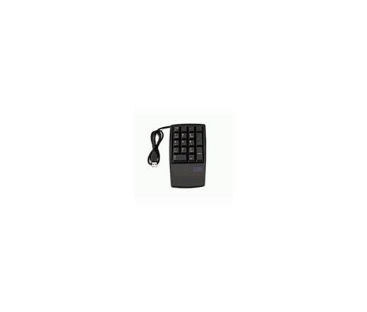 LENOVO USB 17 gombos Numerikus Billentyűzet Fekete
