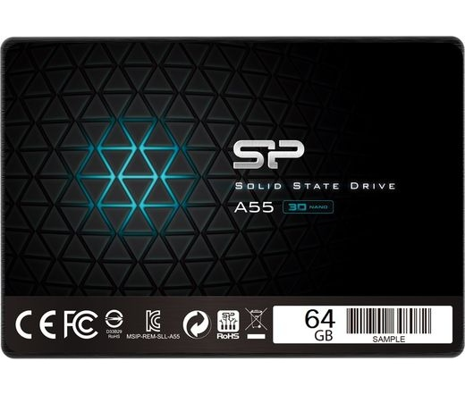 "SSD SATA 2,5"" SILICON POWER 64GB A55 7mm"