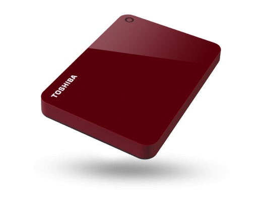 HDD TOSHIBA Canvio Advance 1TB USB3.0 Piros