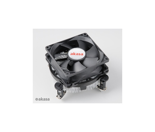 COOLER AKASA Dual Socket PWM 775/115X 80mm CPU Cooler