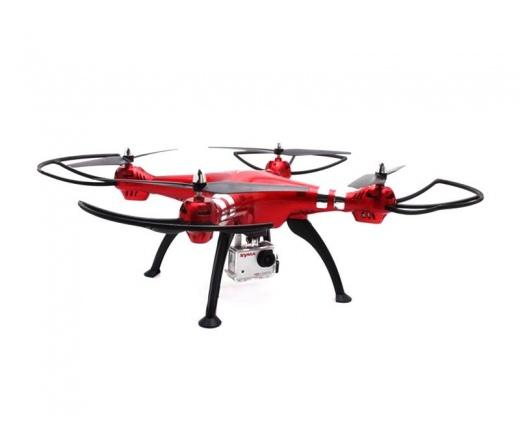 Syma X8HG drón + 8MP Camera Piros