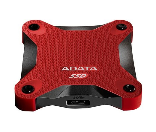 Adata ext. SSD SD600 256GB RED