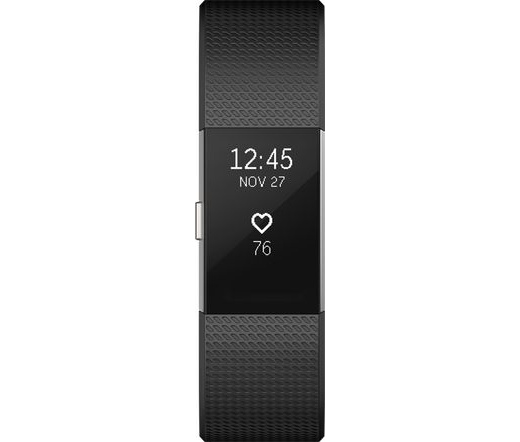 Fitbit Charge 2 Black/Silver Large