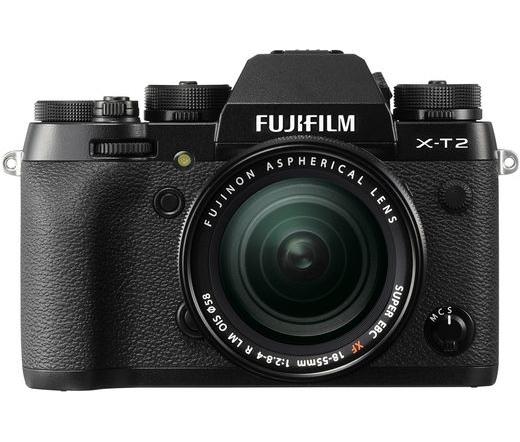 FUJIFILM X-T2 + 18-55mm Fekete Kit