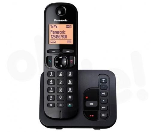 TEL Panasonic KX-TGC220PDB Dect Telefon fekete