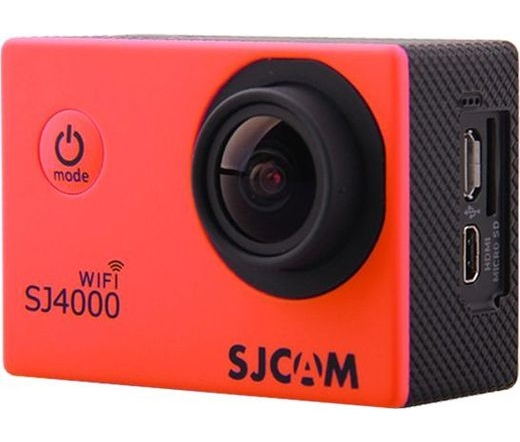 SJCAM SJ4000 Wifi piros sportkamera