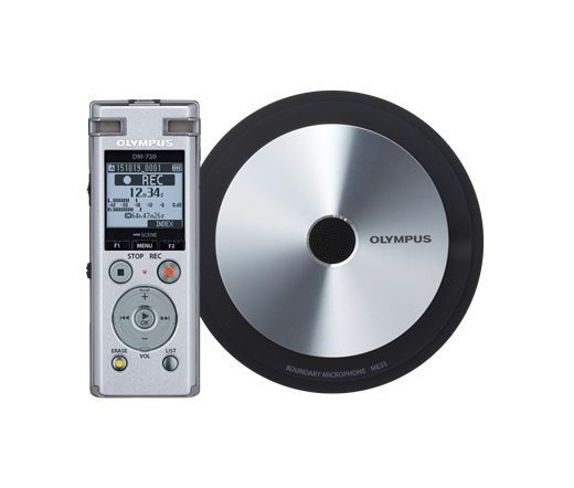 OLYMPUS DM-720 Diktafon Meet & Record small Kit