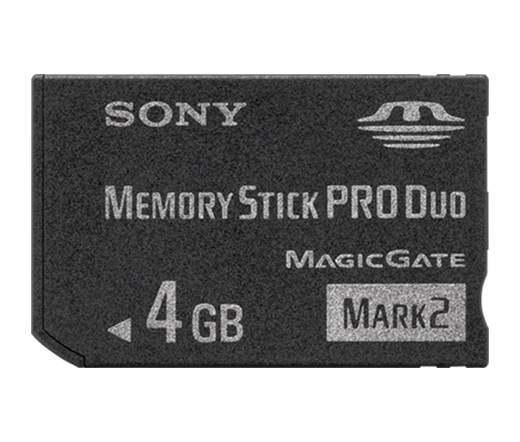 MEMORY STICK Duo Pro 4GB SONY MagicGate New Design