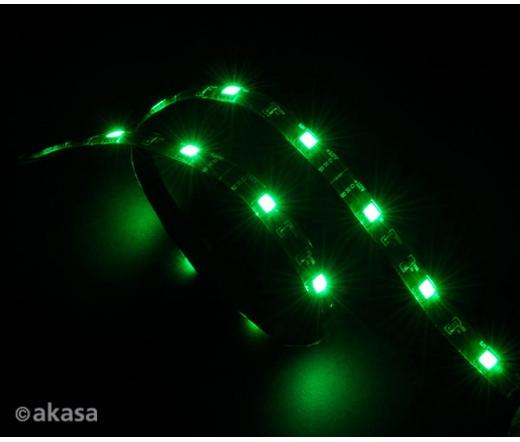 AKASA Vegas 15x LED-Strip 60cm - Zöld