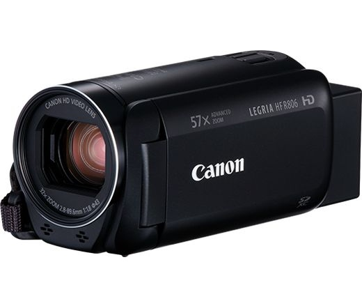 Canon LEGRIA HF R806 digitális videokamera Fekete
