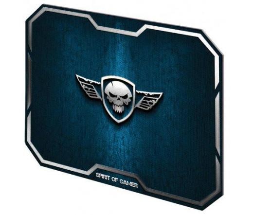 Spirit of Gamer WINGED SKULL Blue (295 x 235 x 3mm; kék)