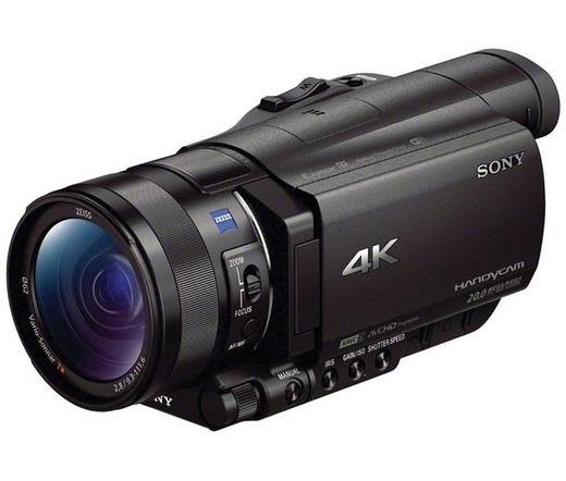 SONY AX100 Fekete 4K Expert HandyCam