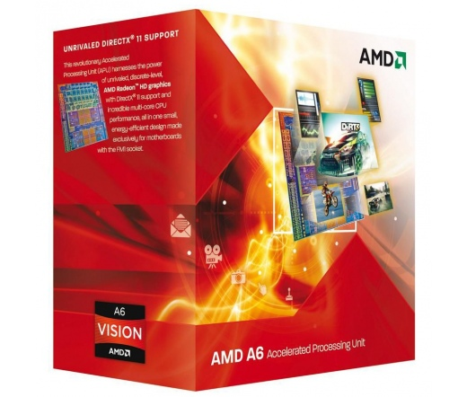 CPU AMD A-Series A6-6400K FM2 BOX