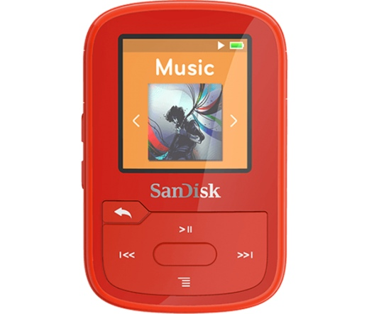 MP3 SANDISK Clip Sport Plus 16GB Red