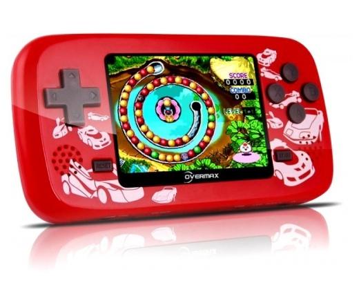 """OVERMAX Boy Player 2,5"""" 101 játék piros"""