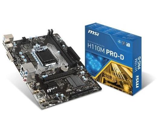 MBO MSI H110M Pro-D