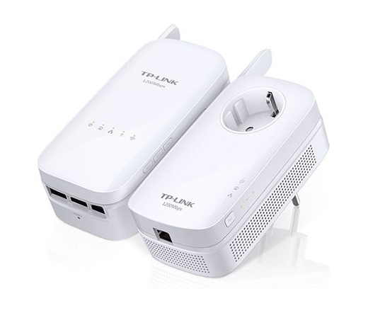 NET TP-LINK TL-WPA8630 Wireless Powerline Adapter Kit