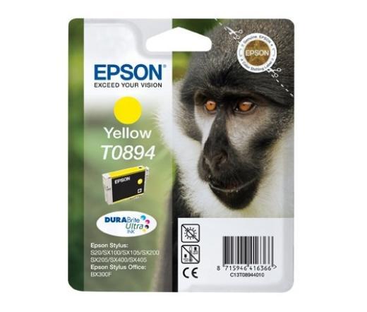 Patron Epson T0894 Yellow 3,5ml (C13T08944010)