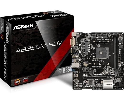 MBO Asrock AB350M-HDV