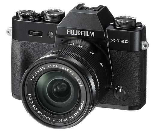 FUJIFILM X-T20 XC16-50mm f/3.5-5.6 OIS II Fekete Kit