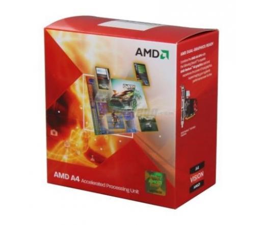 CPU AMD A-Series X2 A4-3300 BOX FM1 (IGP 240shader)