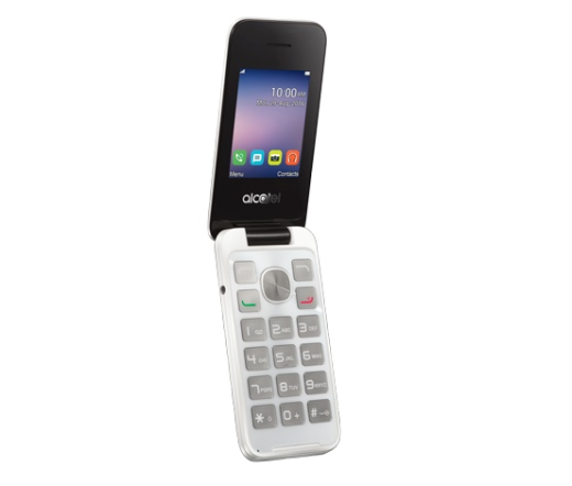 TEL ALCATEL OT-2051D Pure White DS
