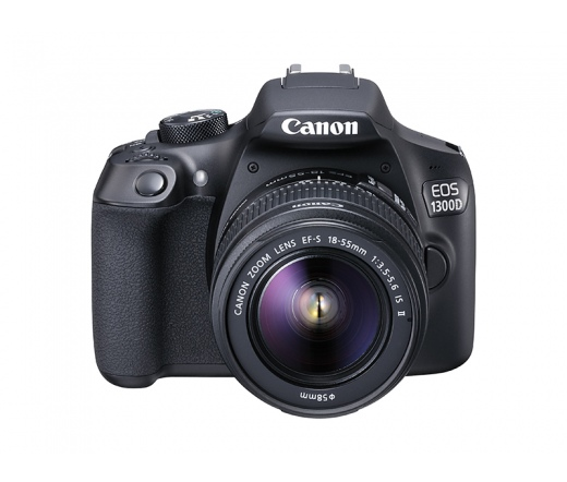 CANON EOS 1300D + EF-S 18-55mm f/3.5-5.6 IS II kit