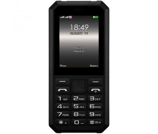 Prestigio Muze F1 Dual SIM mobiltelefon fekete