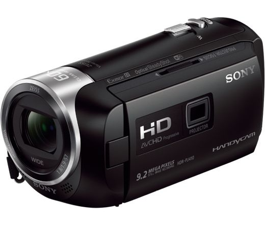 HD CAMERA SONY HDR-PJ410B Fekete