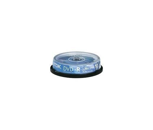 DISC TDK DVD-R 4,7GB 16X 10db/henger