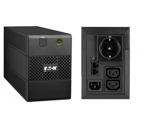UPS EATON 5E 850iUSBDIN 480W fekete