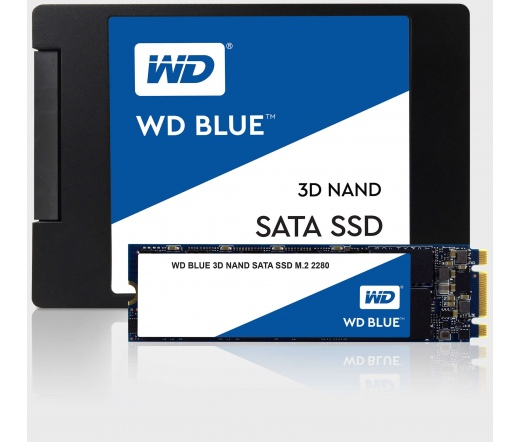 SSD WD Blue 3D NAND PC Sata-III 250GB