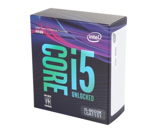 INTEL Core i5-8600K 3,6GHz 9MB LGA1151 BOX