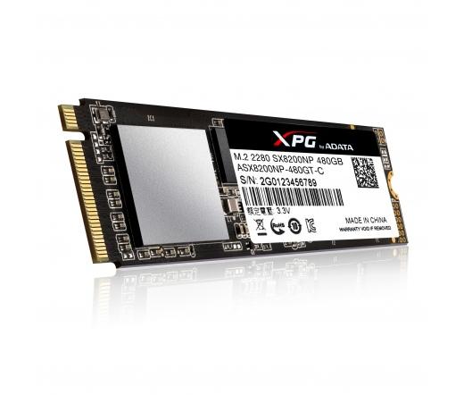 ADATA 480GB SX8200 Series PCIE GEN3 NVMe M.2