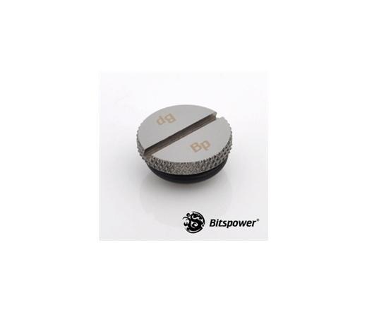 """Bitspower Lezáró dugó G1/4"""" - Low Profile, fekete"""
