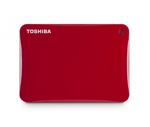 """HDD TOSHIBA Canvio Connect II 2,5"""" 500GB USB3.0 Vörös"""