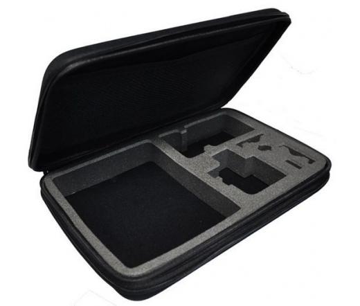 """SJ/GP-228 kamerartartó táska """"HERO"""" felirattal, kis méret (17x12x7 cm) sportkamerához (SJCAM, GoPro)"""