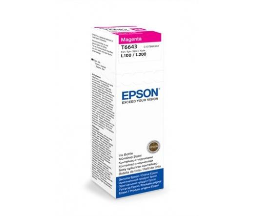 Patron Epson T6643 Magenta ink container 70m