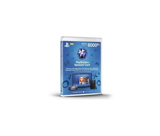 SONY PSN PlayStation Live Card (PS4) 6000 Ft