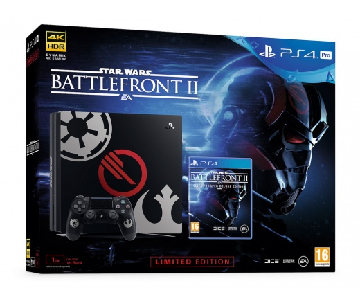 SONY PS4 Pro + Battlefront 2 Deluxe