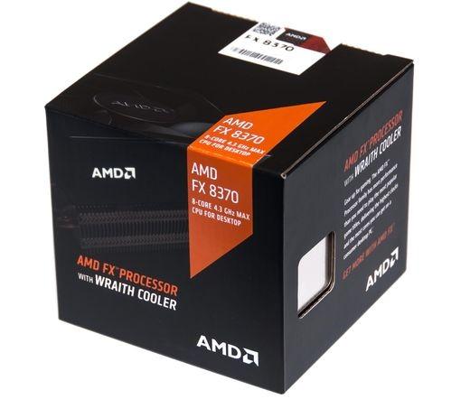 CPU AMD FX-8370 BOX Wraith hűtővel