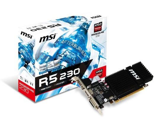 VGA MSI PCIE R5 230 1GD3H LP